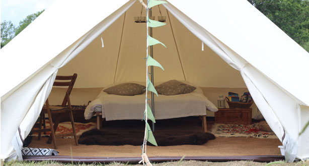 Meadow View Bell Tents Image
