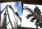 Ride THE SWARM in reverse at THORPE PARK