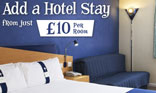 Add an Alton Towers Hotel Stay from �10 pp