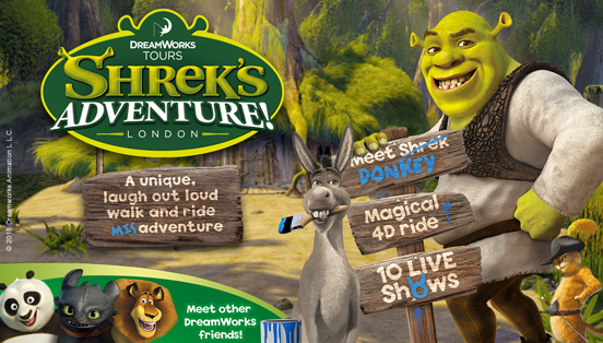Shrek's Adventure! London - About the Adventure! - YouTube