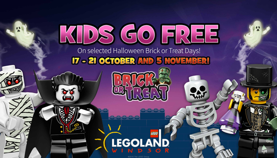 Book a bricktastic break to the LEGOLAND® Windsor Resort
